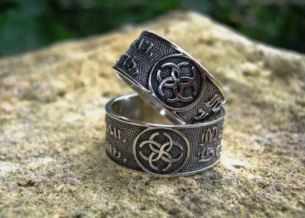 Обручальные кольца обереги