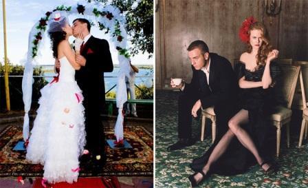 Организация свадьбы в стиле Мулен руж