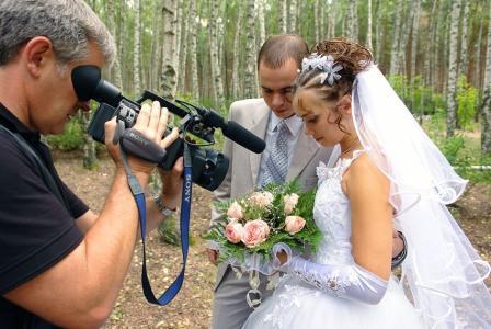 Оригинальные идеи съемки на свадьбе