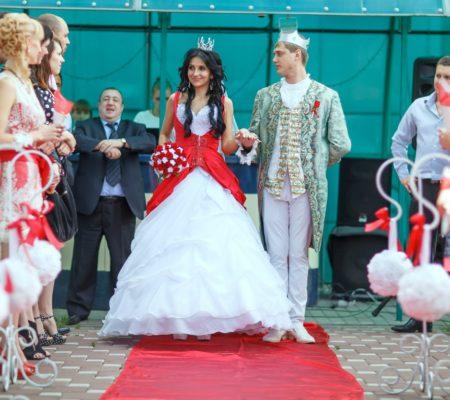 Тематические свадьбы: принц и принцесса