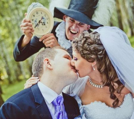 Неповторимая свадьба в сказочном стиле