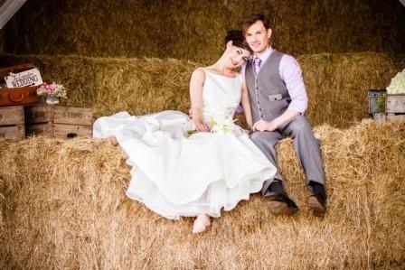 Организация свадьбы в стиле кантри: все как на Диком Западе
