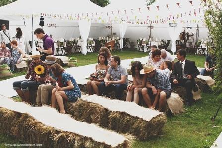 Проведение кантри свадьбы