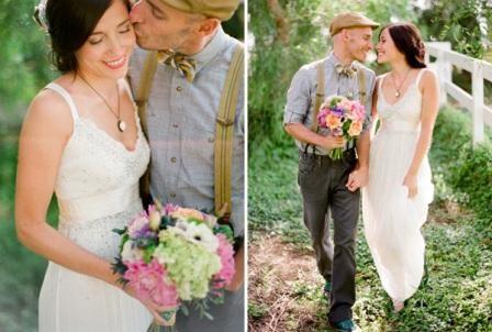 Оформление свадьбы кантри