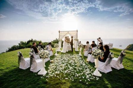 Выездная регистрация на свадьбе