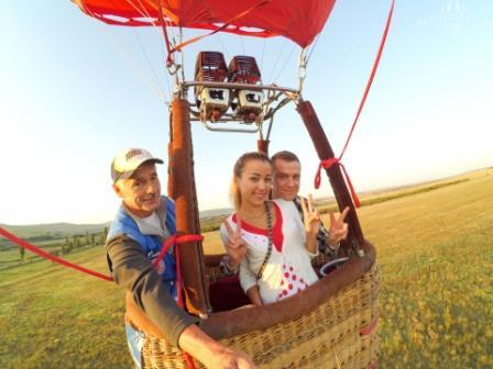 Организация свадебного полета на воздушном шаре