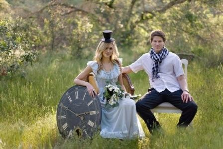 Свадьба в стиле Алиса в стране чудес
