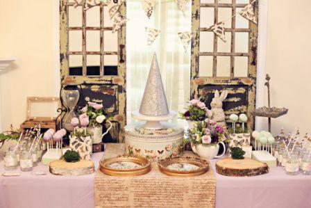 Свадебный стол и меню