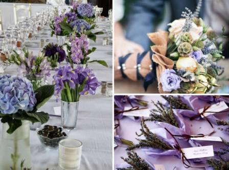 Свадьба прованс: оформление