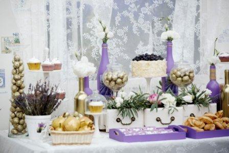 Свадьба прованс: меню и оформление