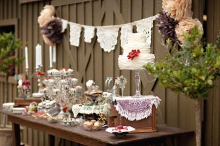 Свадьба в стиле рустик: оформление