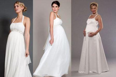 Свадебное платье для беременной, фото