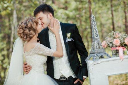 Проведение свадьбы в стиле Париж
