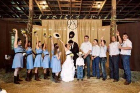 Тематическая свадьба в стиле Дикий Запад