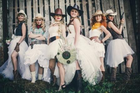 Нестандартные свадьбы: ковбойская