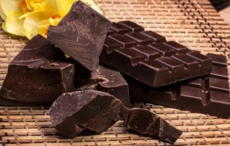 Горький шоколад:полезные вещества
