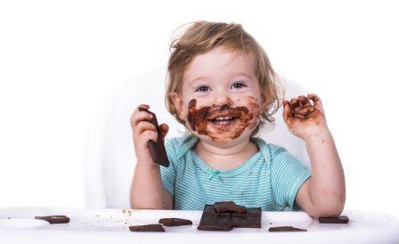 Польза шоколада для детей