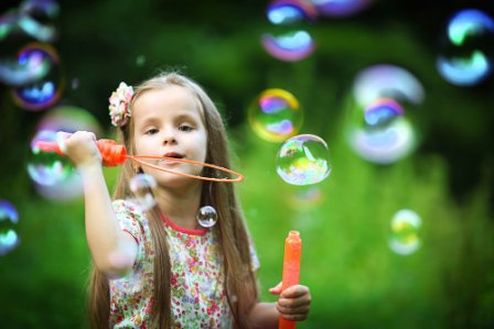 пузыри из хозяйственного мыла