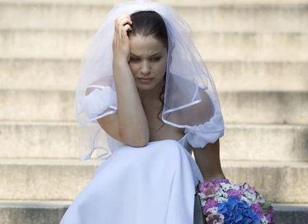 Депрессия у невесты