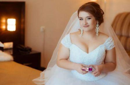 Свадебный образ для пышной невесты
