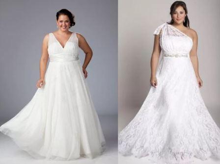 Свадебного платье для полной невесты