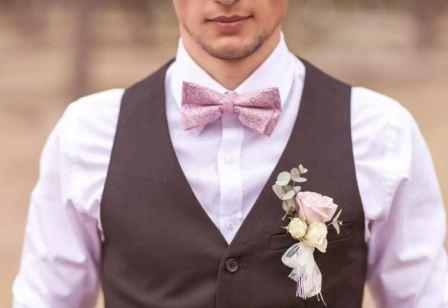 Аксессуары к свадебному костюму жениха