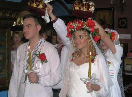 Венчание на Украине