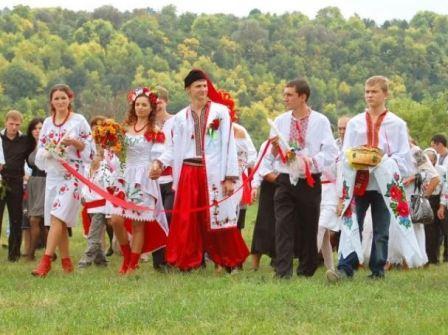 Традиционная свадьба на Украине