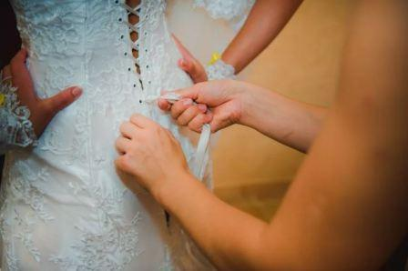 Платье невесты, пошив на заказ