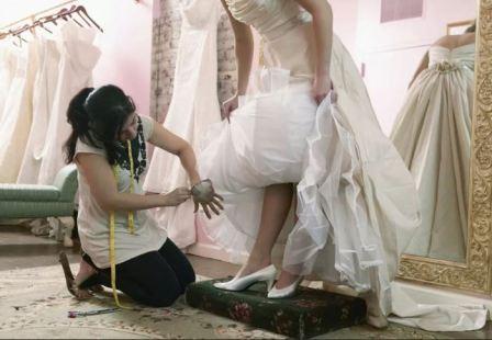 Пошив свадебного платья, преимущества