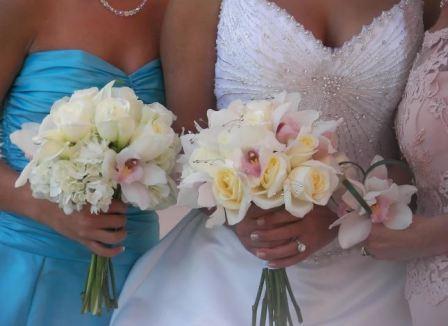 Свадебная флористика, букет свидетельницы