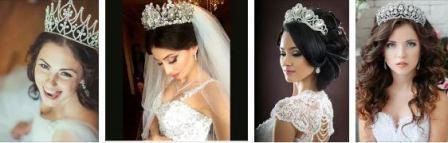 Свадебные атрибуты: корона