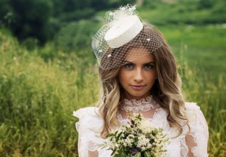 Наряд невесты: свадебная шляпка