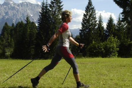 Оздоровительная физкультура, скандинавская ходьба