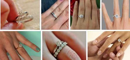 Выбор колец на помолвку