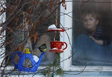 Какой крупой можно кормить птиц зимой