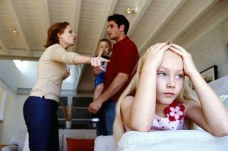 Как ссоры родителей влияют на психику ребенка