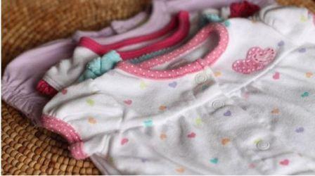 Чем отстирать пятна на детской одежде