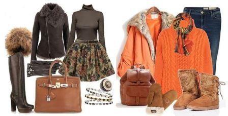 Что носить зимой женщине