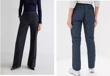 Какие брюки носить зимой женщине