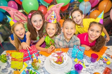 Веселый день рождения для детей