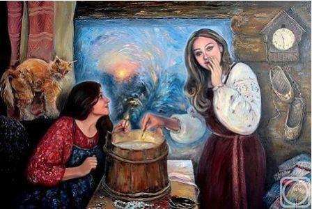 Гадание цыганки на новый год