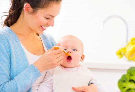 Питание детей от 0 до 3 лет