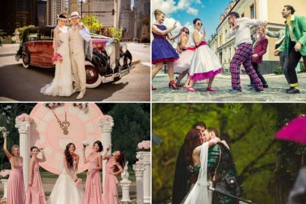 Сценарий оригинальной свадьбы