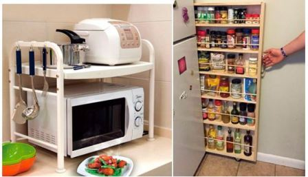 Организуем место на кухне