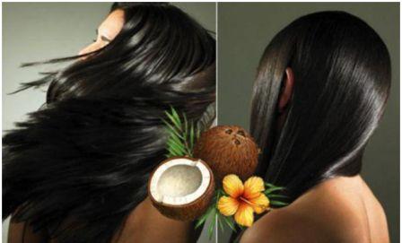 Кокосовое масло для волос: применение