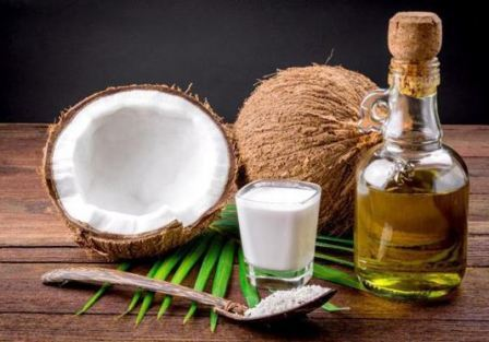 Кокосовое масло для волос в домашних условиях