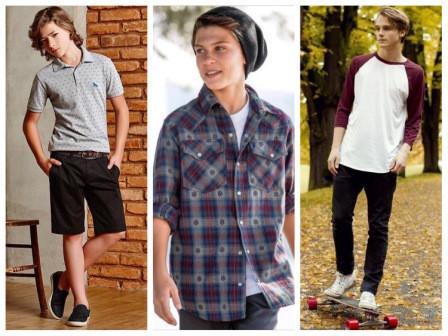 Базовый гардероб для мальчика подростка