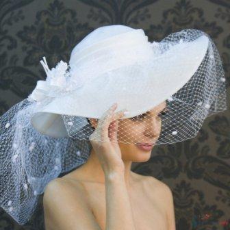 Шляпки для невесты