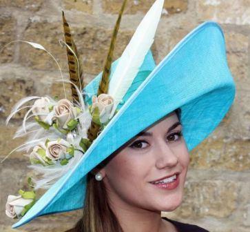 Шляпка на свадьбу